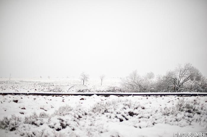 Les premières neiges de 2012
